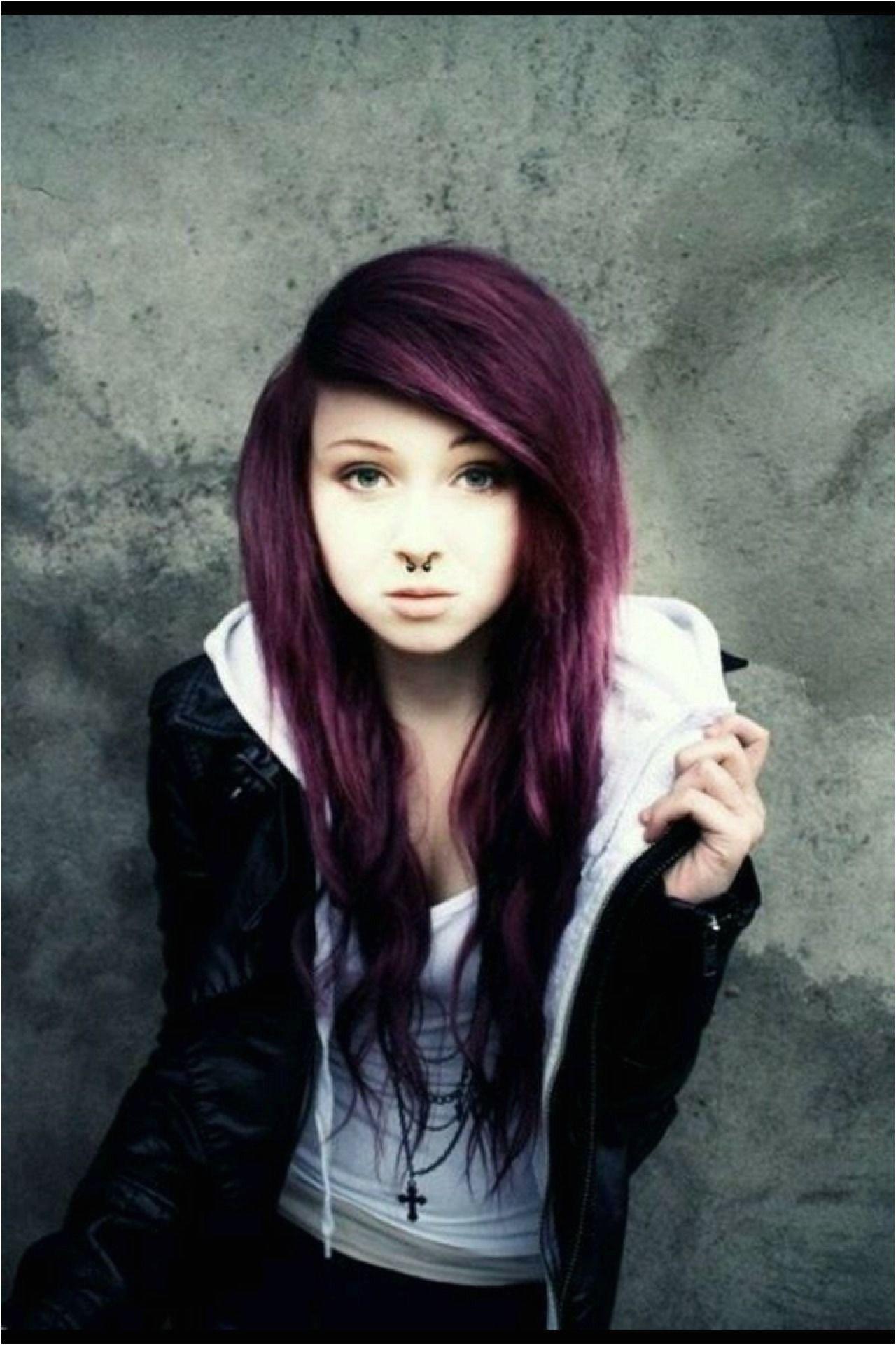 Long Emo Girl Hairstyles Emo Hair Styles #emo #emohair #emostyles