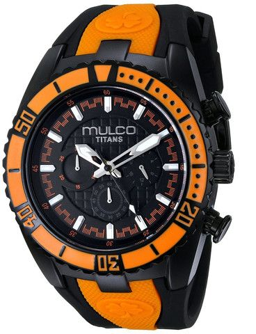 MULCO Titan Wave Analog Display  Unisex Watch  Japanese Quartz