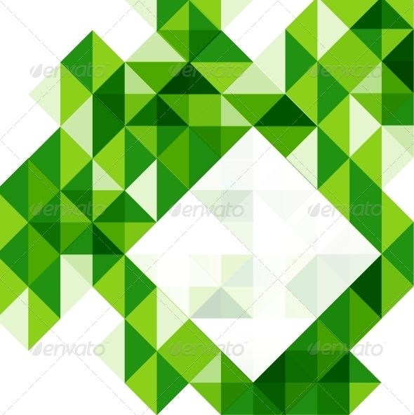 Green modern geometric design template | Geometric designs, Adobe ...
