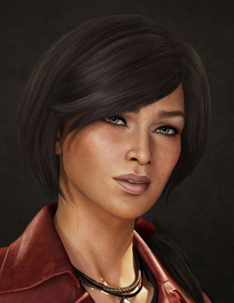 ArtStation - Uncharted 3 - Chloe, Sze Jones   Character Concept Art ...