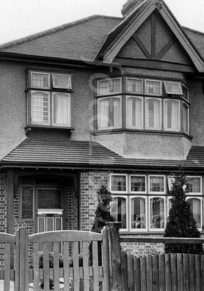 Image detail for -1930 style semi-detached house. (The ...