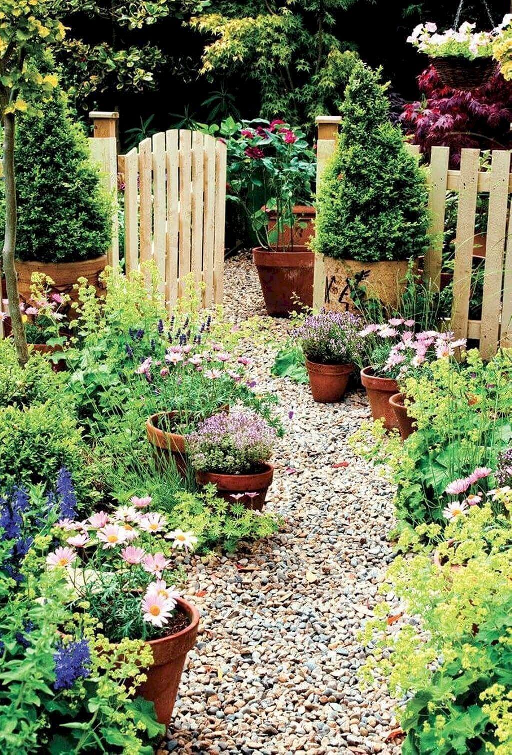 90 Stunning Front Yard Cottage Garden Inspiration Ideas