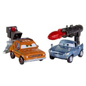 Cars 2 Action Agents Battle Pack Finn Mcmissile Grem 6 06 Exclusive Cars Disney Cars Toy Car
