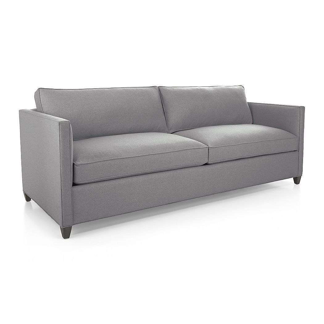 Shop Dryden Gray Modern Sofa For A Bit Of Sparkle And Classic