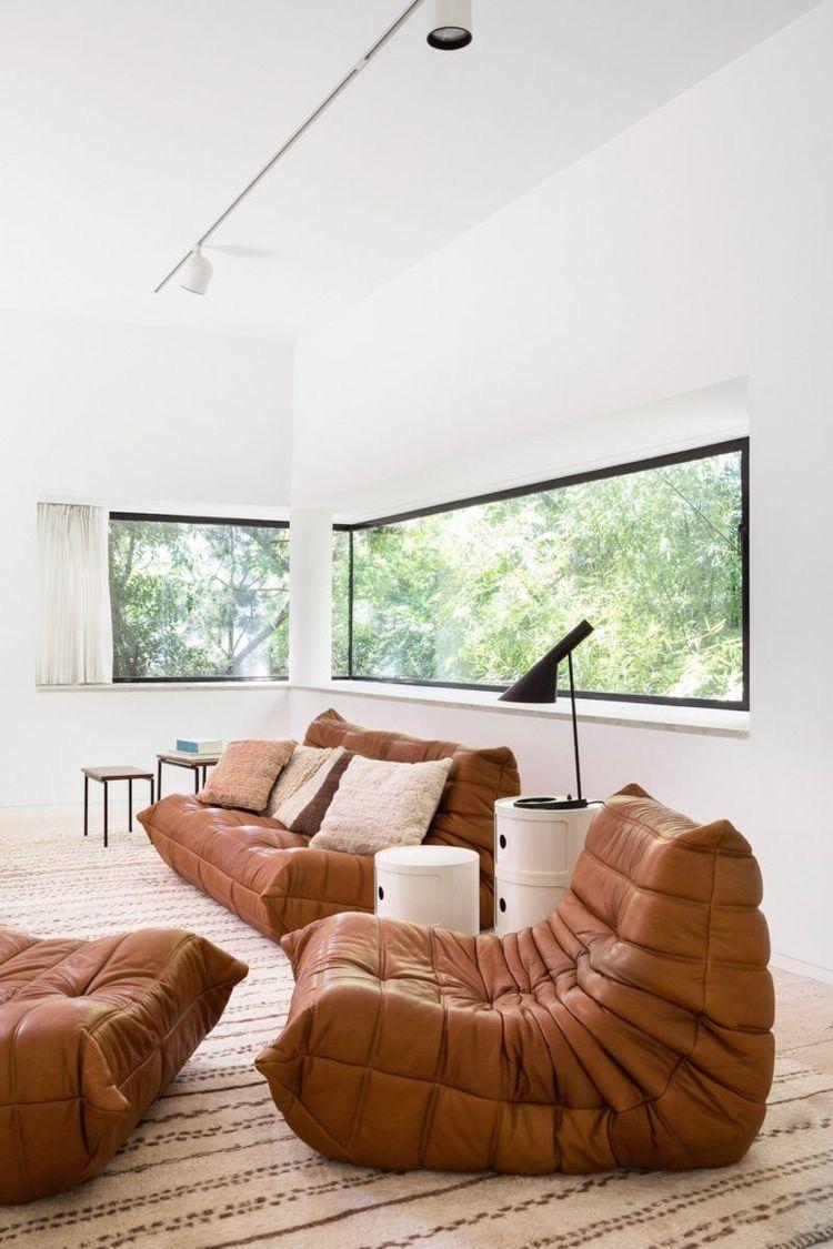 Living Room Togo Sofa Michel Ducaroy Arne Jacobsen Jacobsen Lamp Home Togo Sofa Home Decor