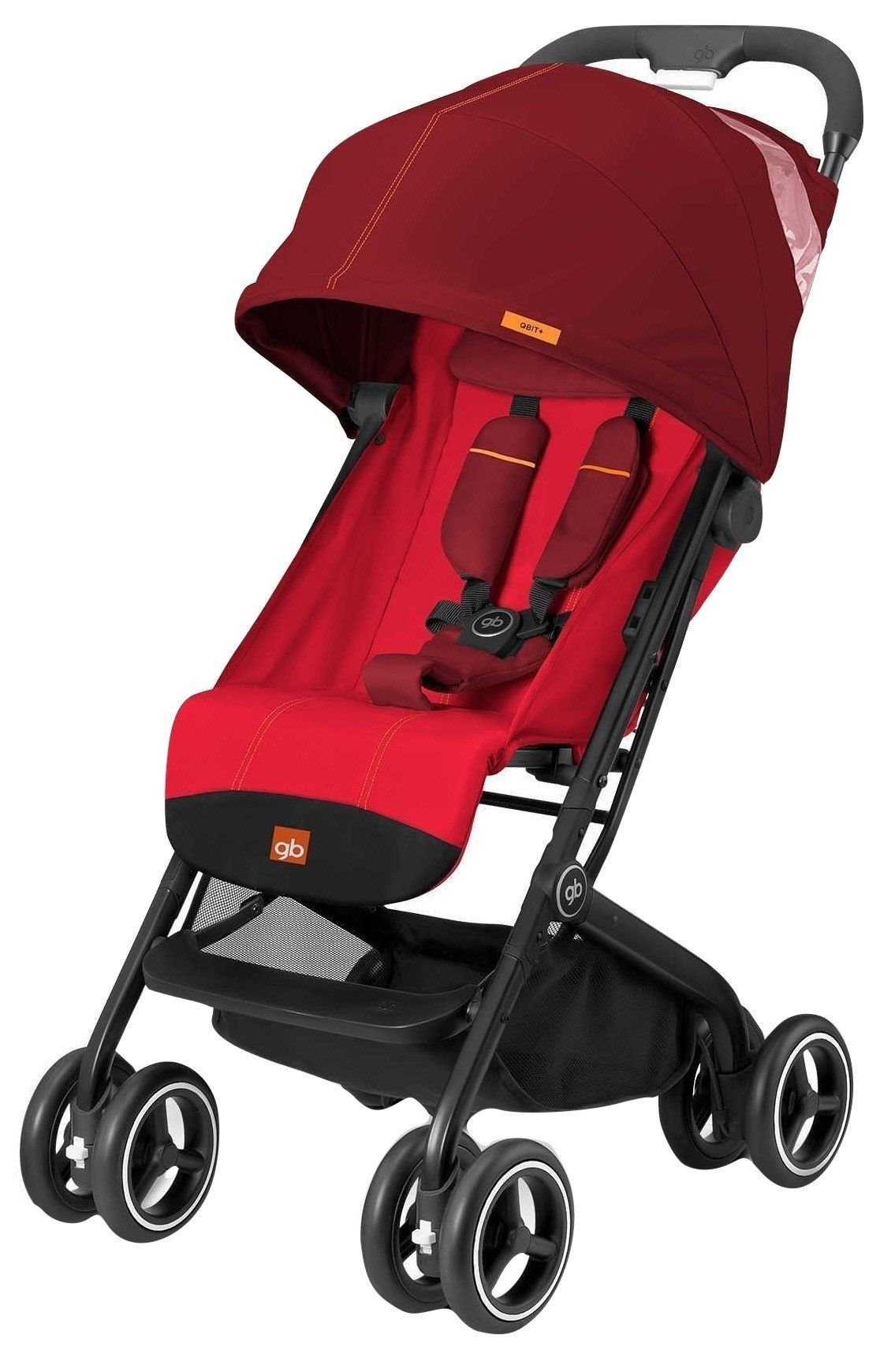 GB QBit Plus (Dragonfire Red) Travel stroller, Baby