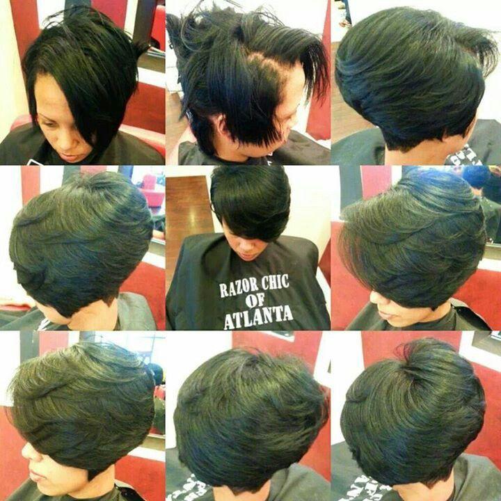 Razor Chic Of Atlanta Hairstyles Razor Chic Of Atlanta  Hair Styles For Me  Pinterest  Razor Chic