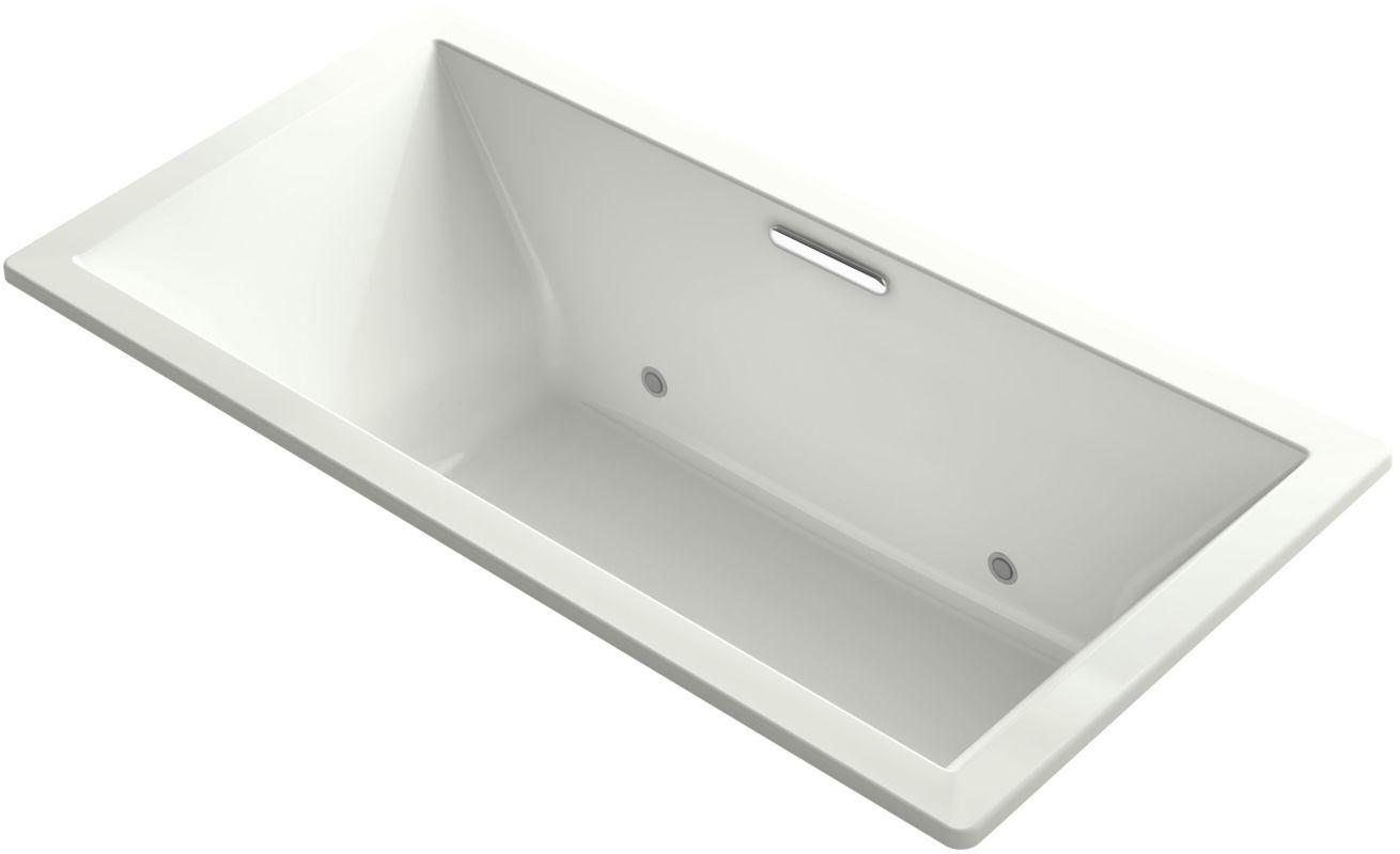 Kohler K 1835 Vbc Underscore 72 Soaking Tub With Center Drain Chromatherapy A Dune Tub Soaking Drop In Air Bathtub Soaking Tub Chromatherapy