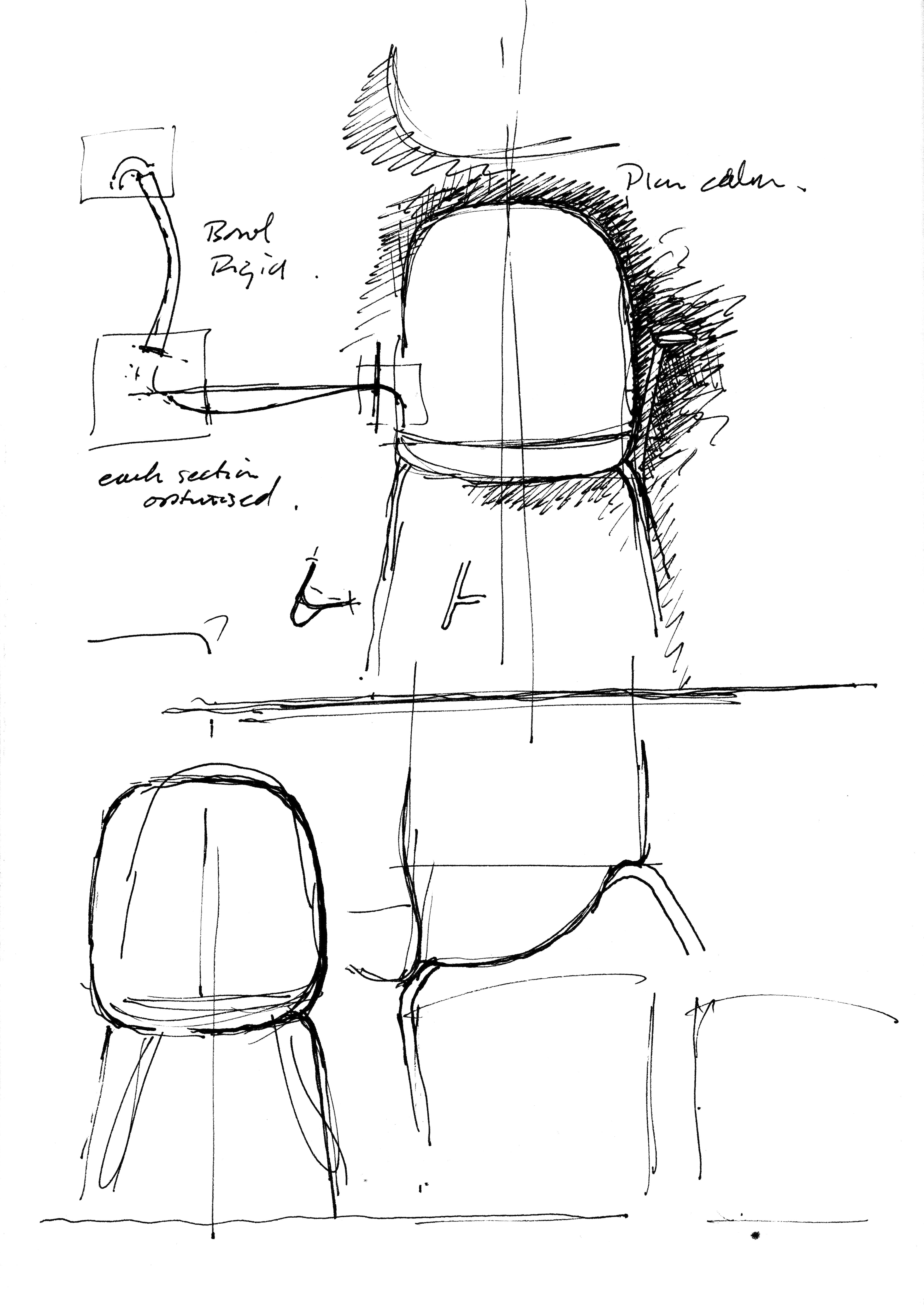 Chair design drawing - Furniture Sketch Of The Chair Sixe Designed By Pearsonlloyd Chair Designthe Chairsketchsketchingpresentationdesignersdrawings