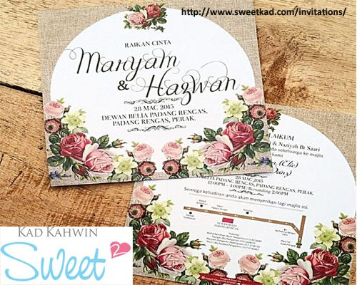 Sweet Kad Is The Perfect Option For You Because Our Team Of Kad Jemputan Malaysia Designers Work Hard To C Wedding Card Design Wedding Cards Wedding Stationery