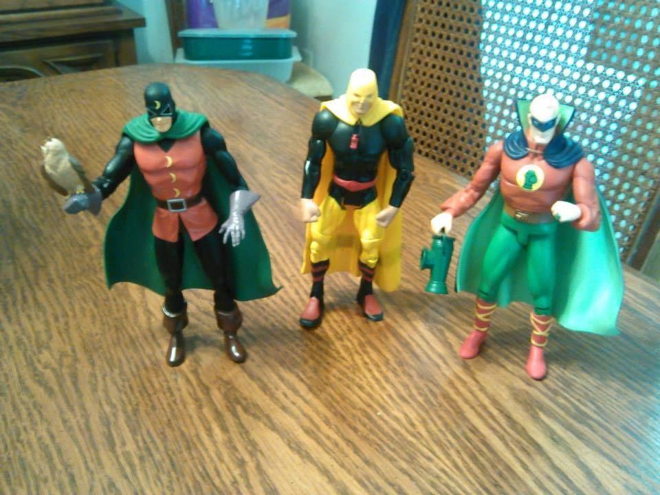 Dr. Midnite! Hourman! Green Lantern! #JSA #ephemera —MT via @Art Sequential on Twitter and facebook.com/comixcomixcomix