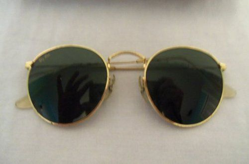 73c0ab5dfccd Vintage B L Bausch Lomb Ray Ban Rayban Round Lennon Sunglasses 50mm