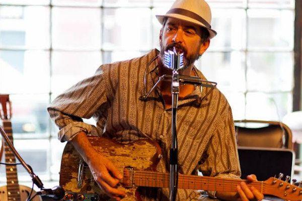 Soiano Blues Festival on stage: Andy J Forest, Mauro Ferrarese, Cek Franceschetti One Man Band - Suoni e strumenti