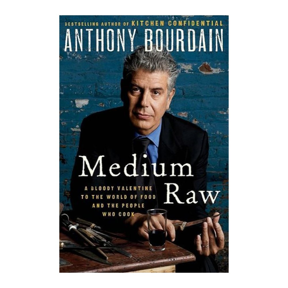 Medium raw hardcover anthony bourdain kitchen confidential cook books read
