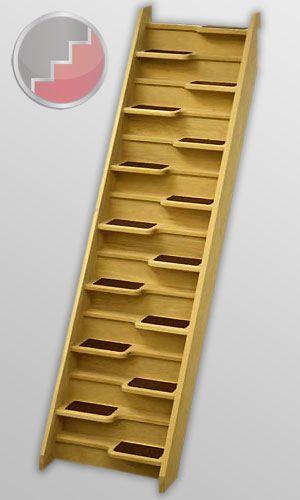 Best Oak 40 Spacesaver Staircase Space Savers Space Saving 400 x 300