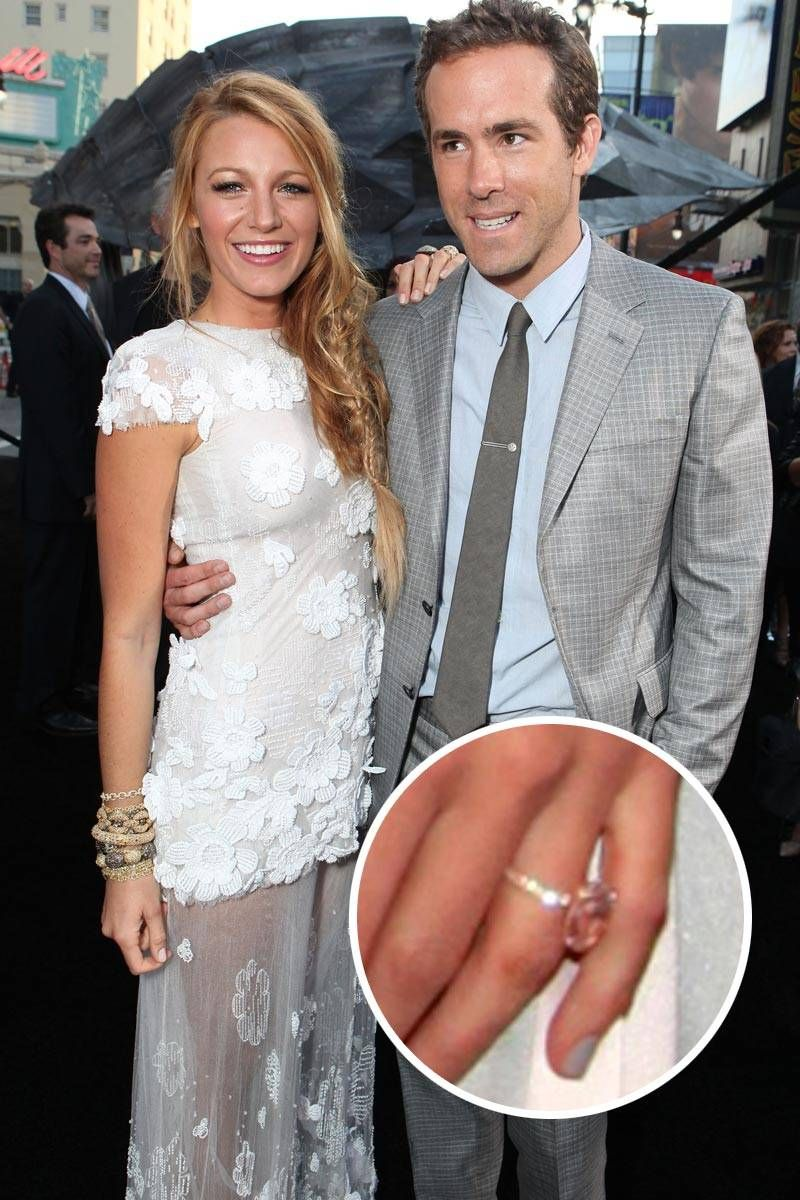Blake Lively And Ryan Reynolds Though They Managed To Keep Their Engagement Wedding Private