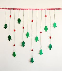 New Year garland.New year party decoration.New year by Objeshop
