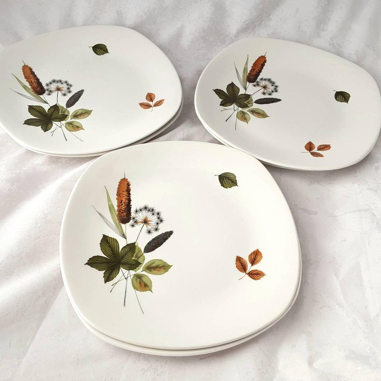 Riverside Pattern. 1960s Midwinter Serving Dish