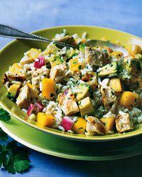 Chicken, Mango, and Rice Salad
