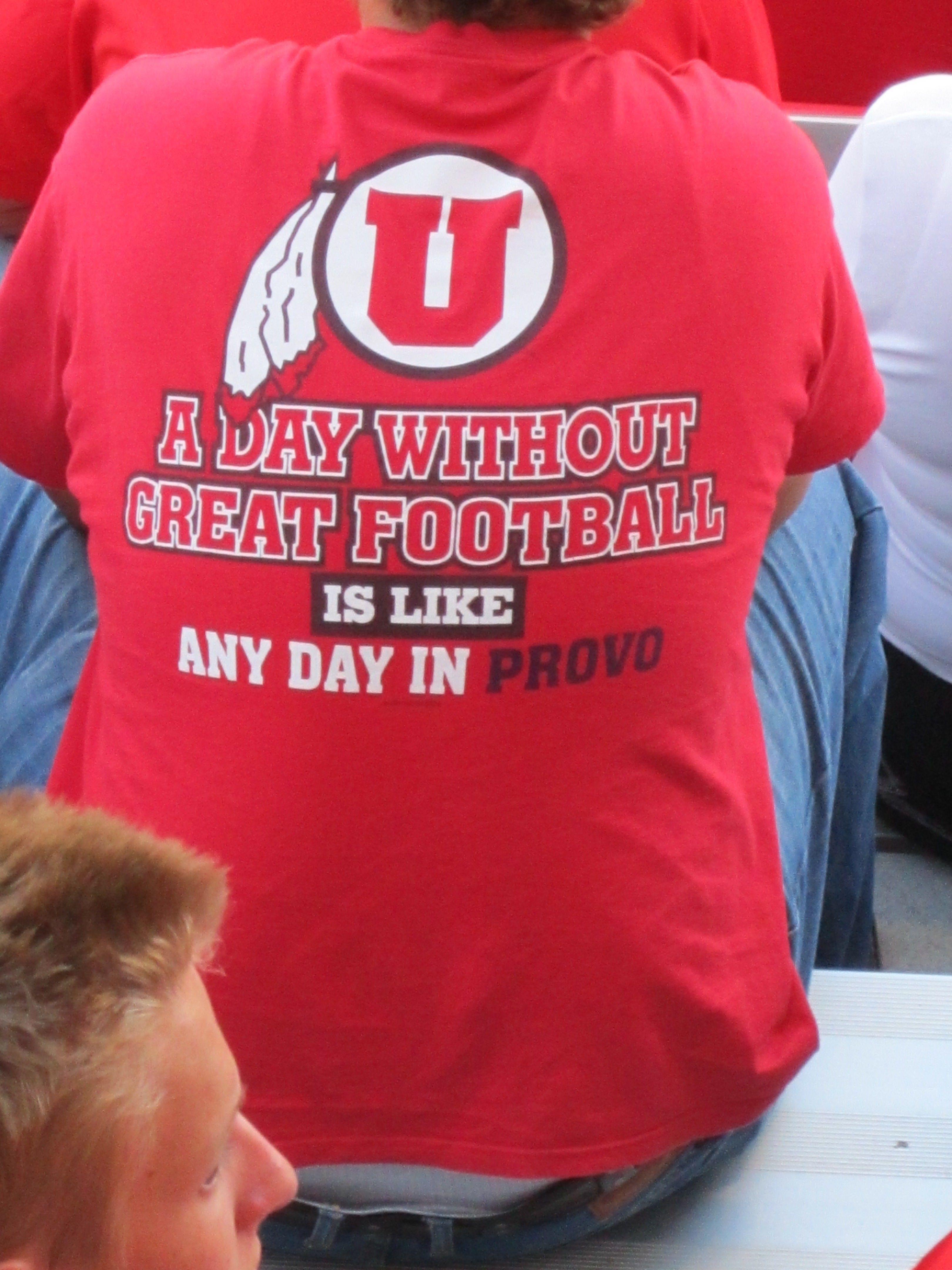 Haha Sorry Byu Fans I Had To Pin This Go Utes Utah Utes Football Utah Utes University Of Utah Football [ 4320 x 3240 Pixel ]