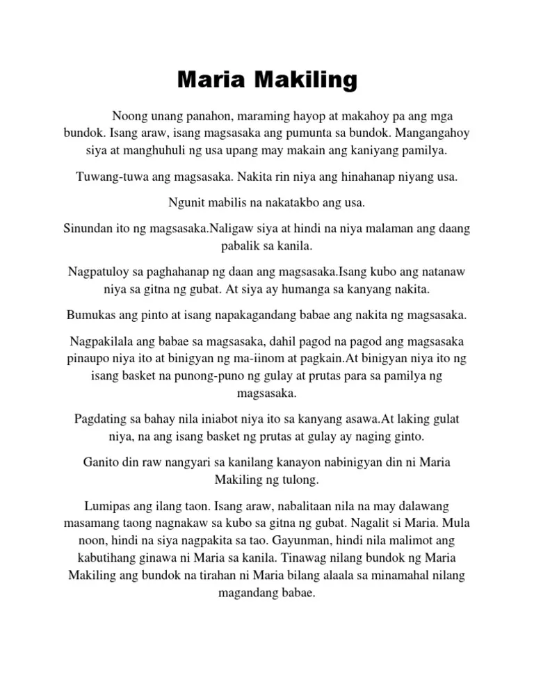 Alamat Maria Makiling Kwento Google Search Makiling Maria Search