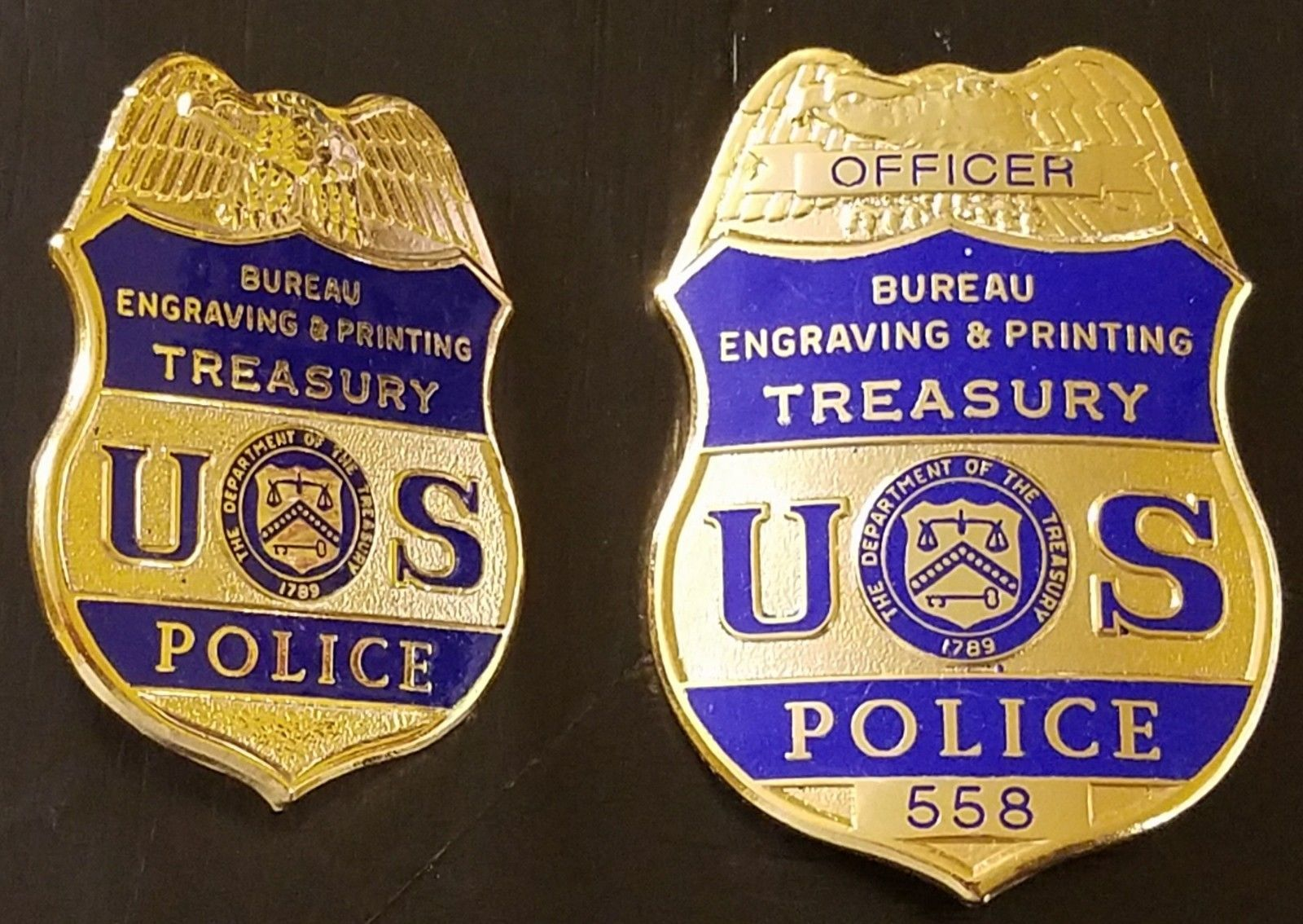 Officer, Bureau of Engraving & Printing Treasury Police (Hat and