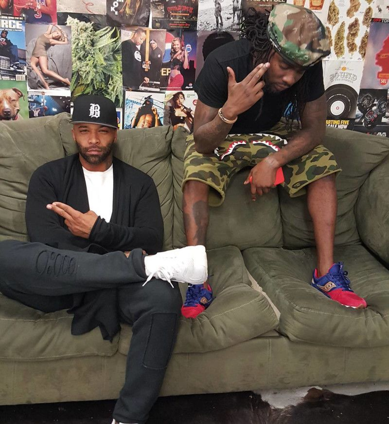 ... coupon code for celebrity feet spike lee nike blazer knicks 4 joe  budden wearing the white a5f9fcef9