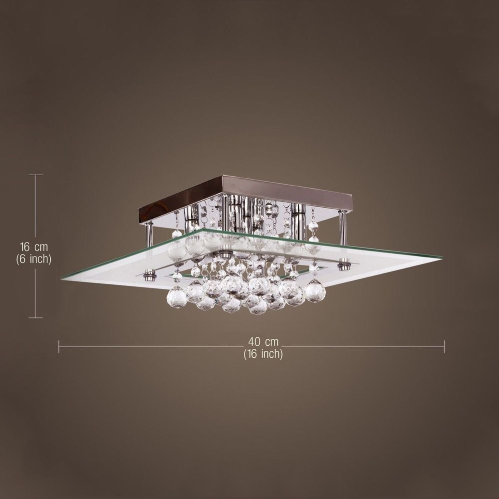 Fashion Crystal 3WCeiling Light Pendant Lamp Fixture