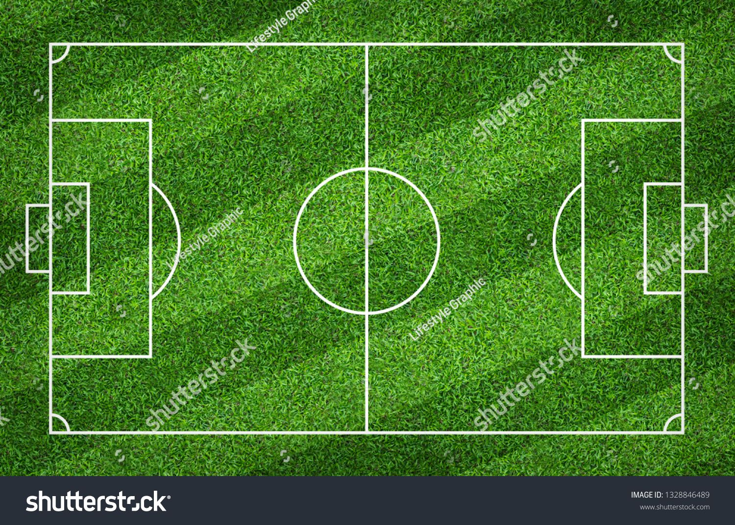 Football Field Or Soccer Field For Background Green Lawn Court For Create Sport Game Ad Sponsored Background Gre Football Field Soccer Field Green Lawn