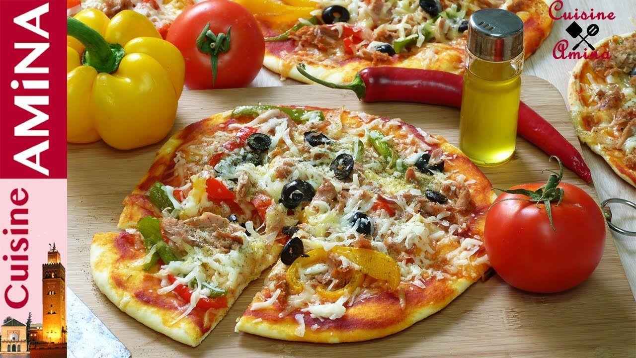 بيتزا خيالية بدون فرن مثل المطاعم سريعة و بعجينة رطبة وهشة Food Lover Food Food Blog