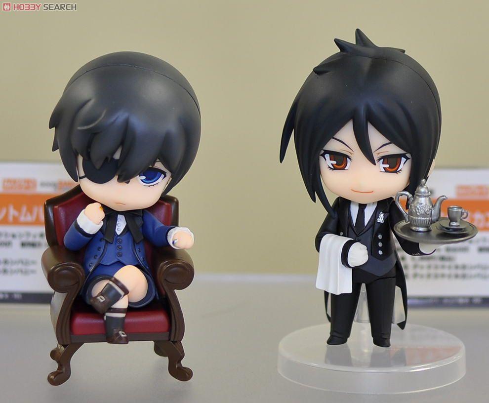 Nendoroid Black Butler Sebastian /& Ciel Figure Good Smile Company Japan