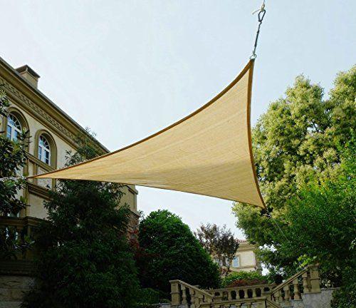 Simple Cool Area Dreieck x x m Sonnensegel Sonnenschutz Segel UV Schutz f