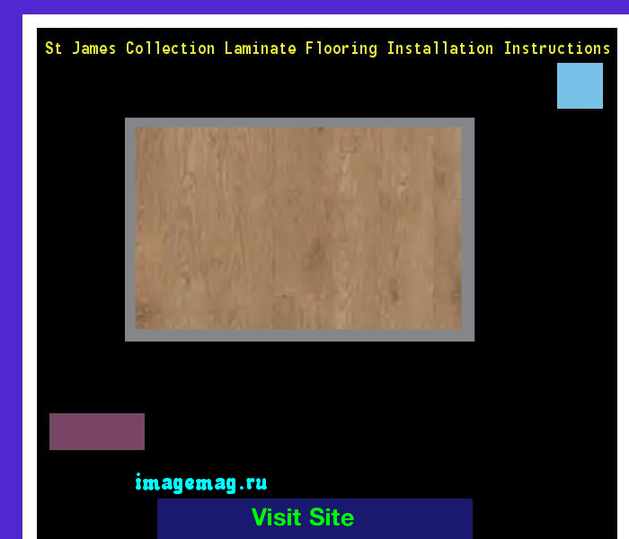 St James Collection Laminate Flooring Installation Instructions 114323    The Best Image Search