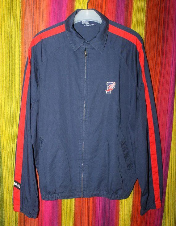 890154122 Vintage Polo Ralph Lauren P Wing Jacket