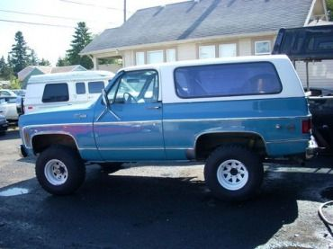 Buy Used 1973 Chevy K5 Blazer Fully Convertible Lots Of