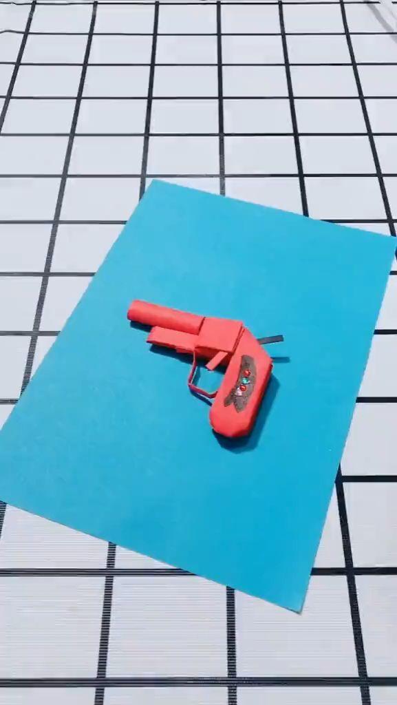 Origami pistol manual video