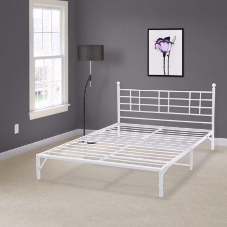 Home Steel Bed Frame Metal Platform Bed Headboards For Beds