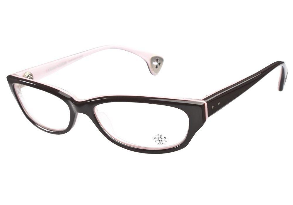 Ray Ban Black And Pink Eyeglasses