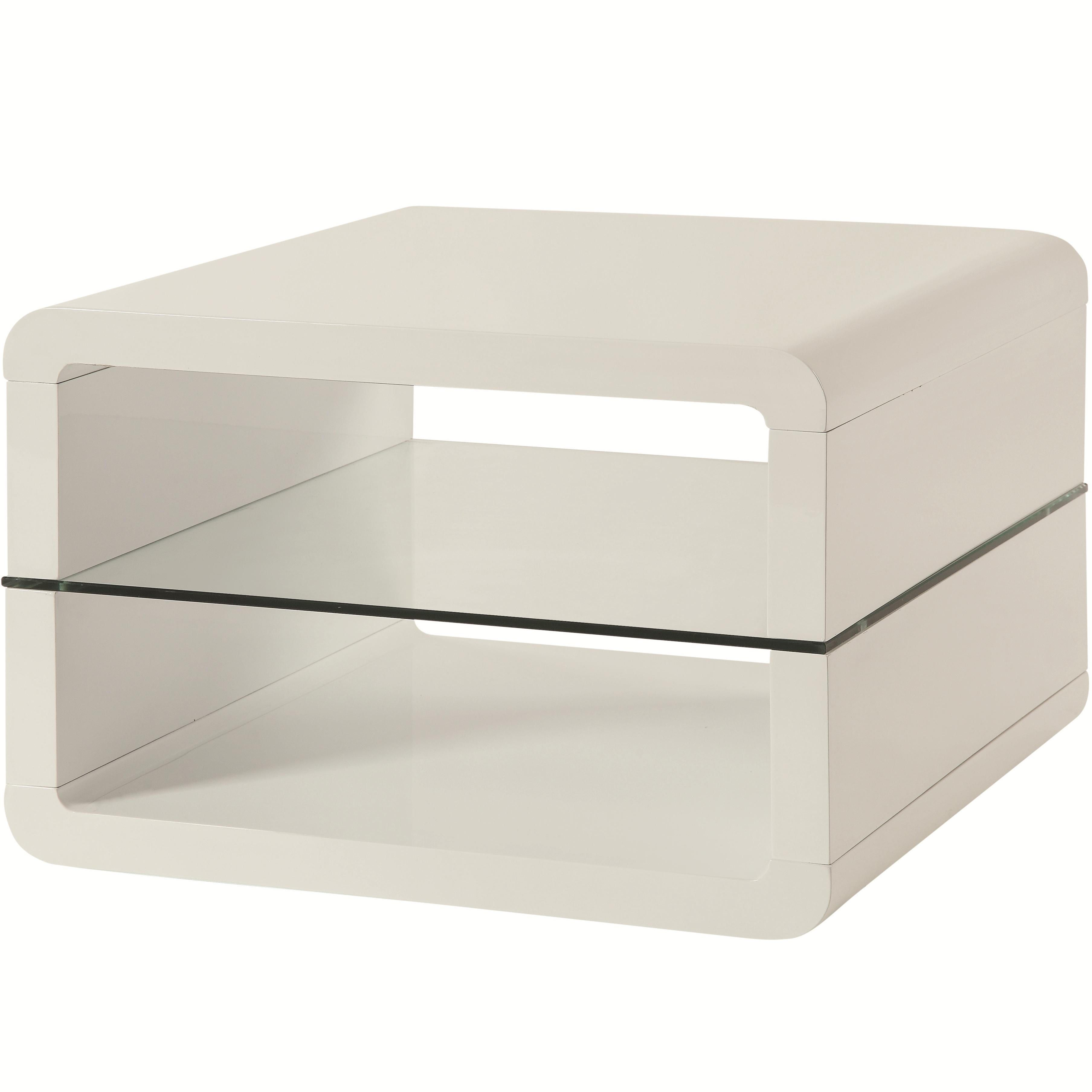 Best Coaster Furniture Glossy White Glass End Table Glass End 640 x 480