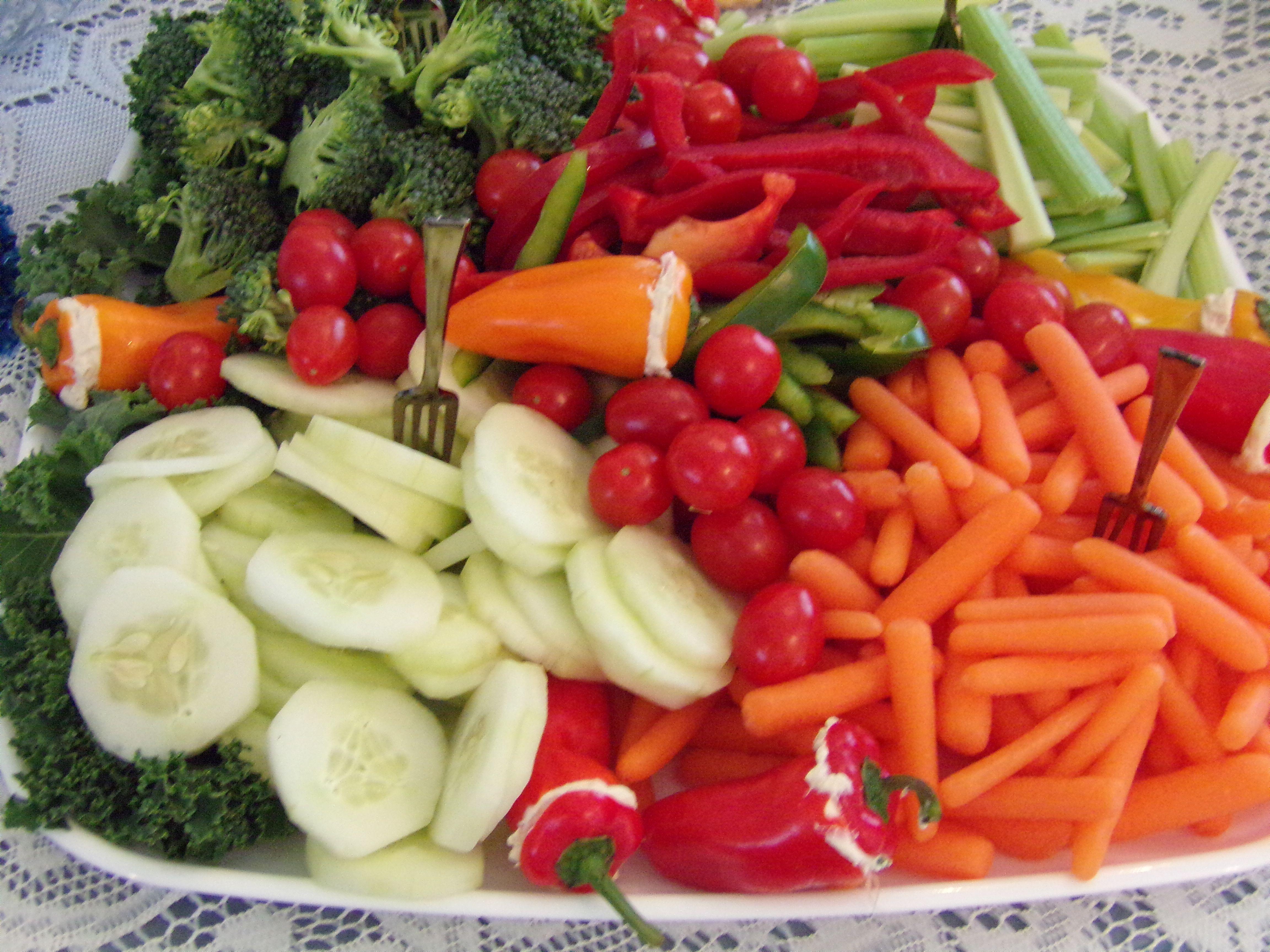 Vegetable platter southern belle gentleman heather s baby shower i