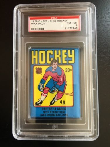1979-80 O-Pee-Chee Hockey Unopened Pack PSA 8 https://t.co/pcaoeOkLEH https://t.co/OElosQuE5n