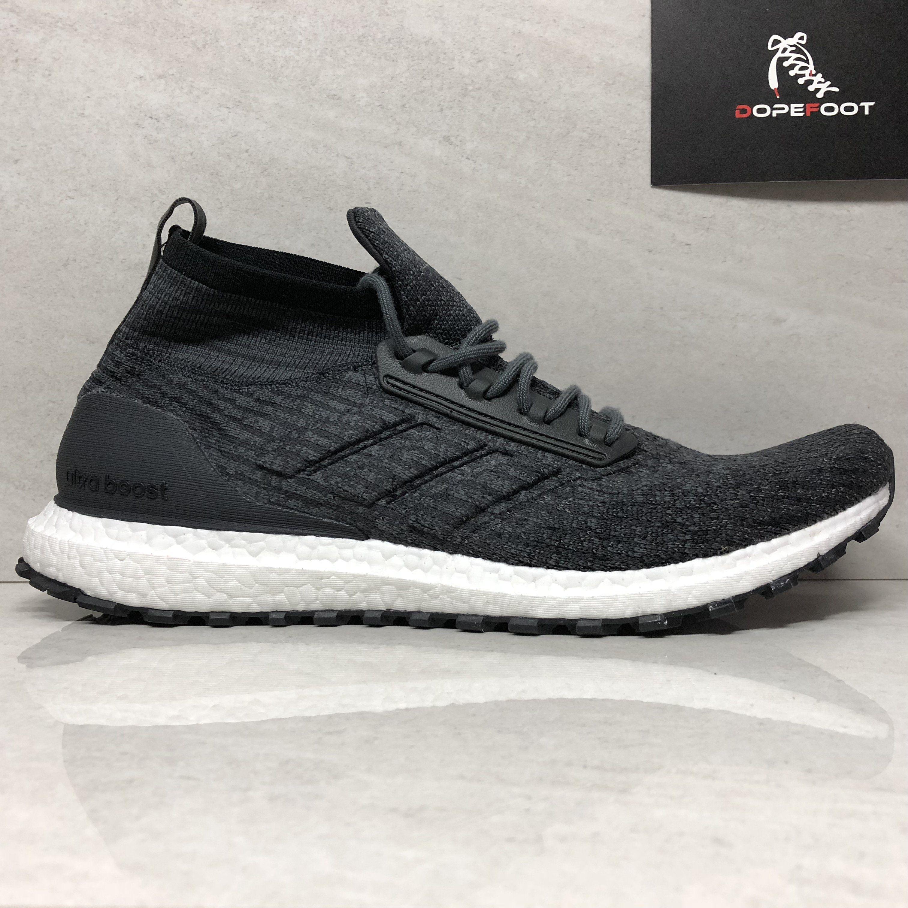 712153221 DS Adidas Ultraboost All Terrain LTD Size 13 Black BB6218