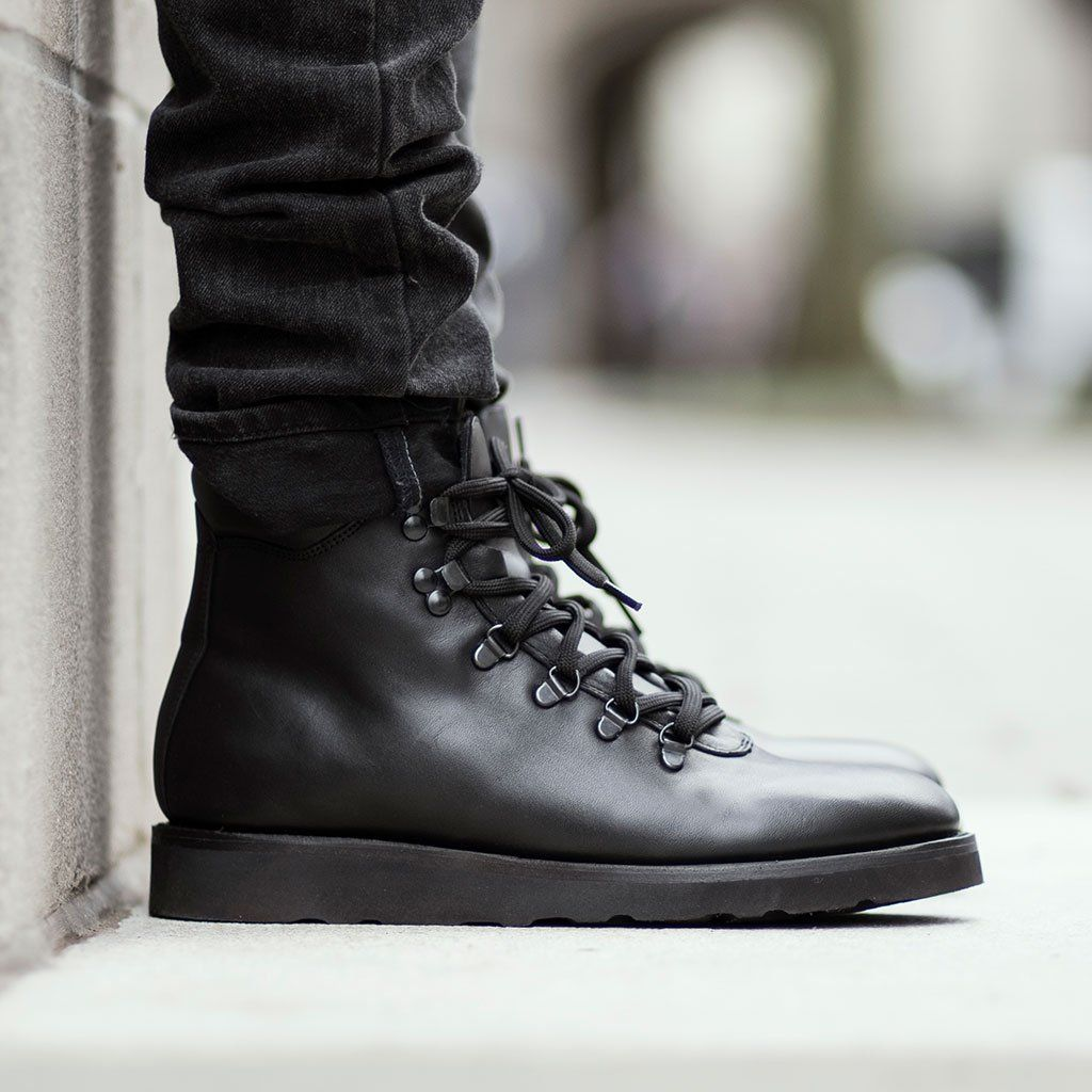 Leather shoes men, Mens boots fashion
