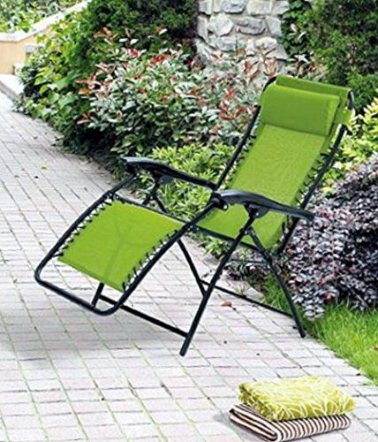 Lounge Chair Recliner Zero Gravity Chairs Outdoor Patio