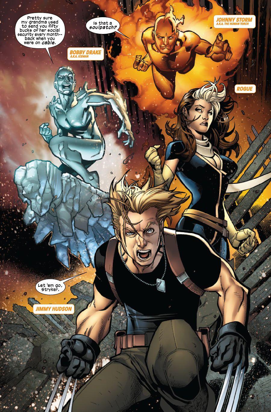 ULTIMATE COMICS X-MEN #5 MARVEL COMICS