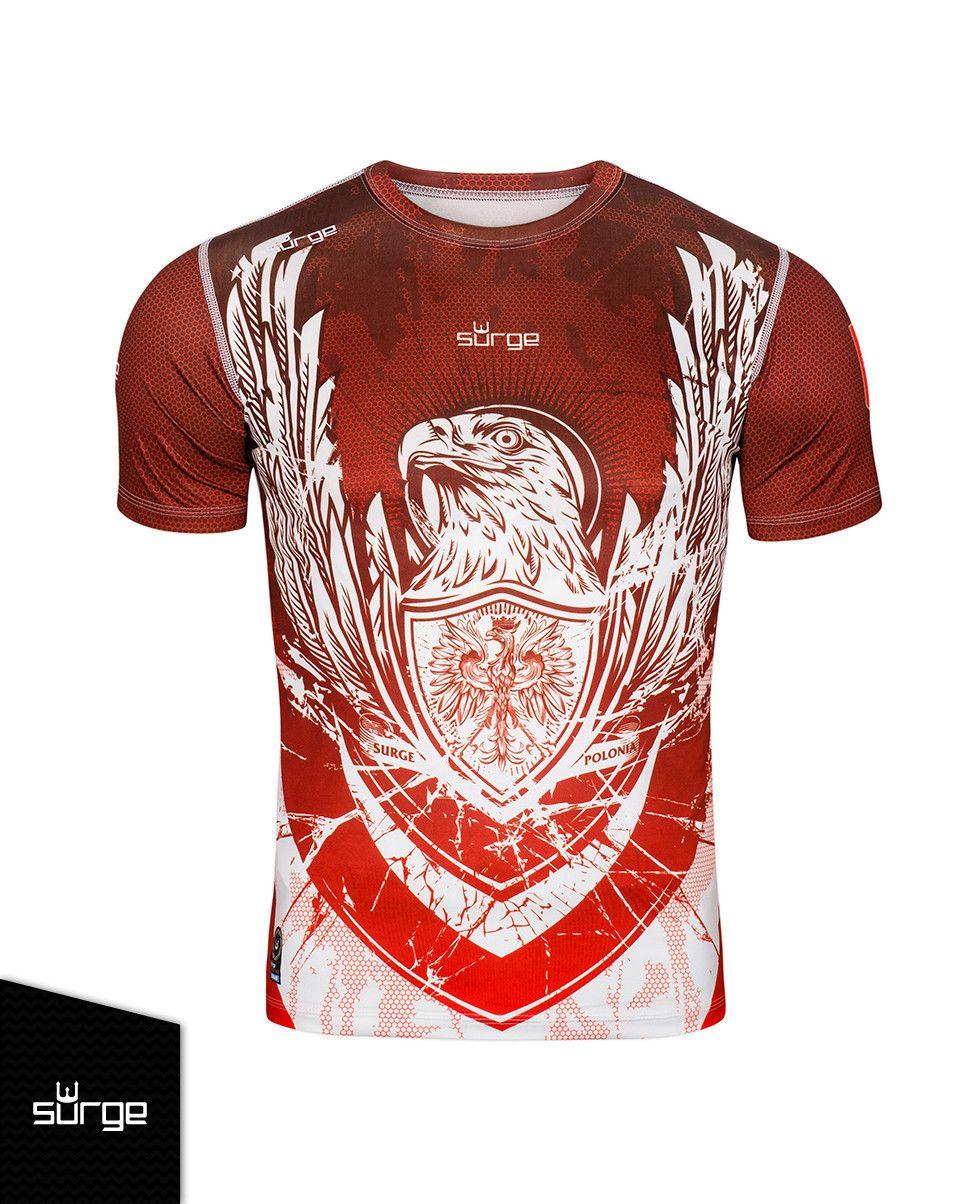 Koszulka Termoaktywna Orzel Sport Dziecieca Surge Polonia Sport