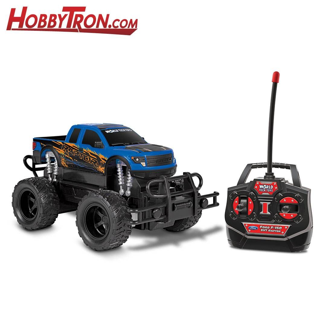 Ford F-150 SVT Raptor 1:24 RTR Electric RC Monster Truck #techtoys