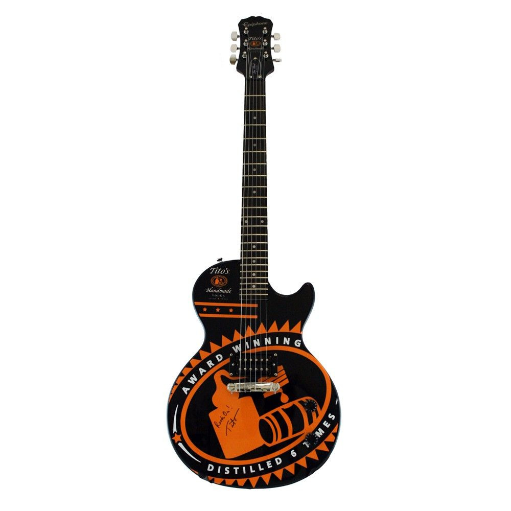 229 00 custom tito s handmade vodka black epiphone les paul on epiphone guitar strap gibson les wiring diagram  [ 1000 x 1000 Pixel ]