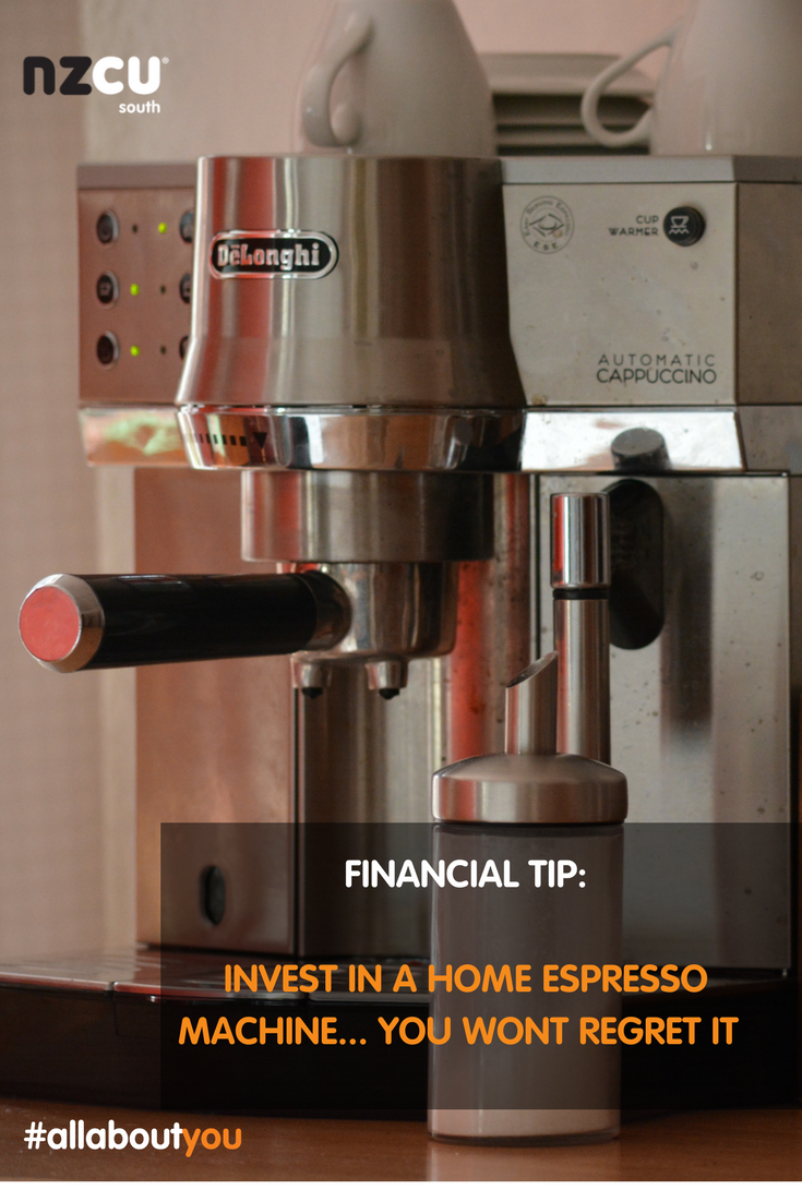 Personal finance tip buy an espresso machine and make your coffee from home personalfinance savings allaboutyou