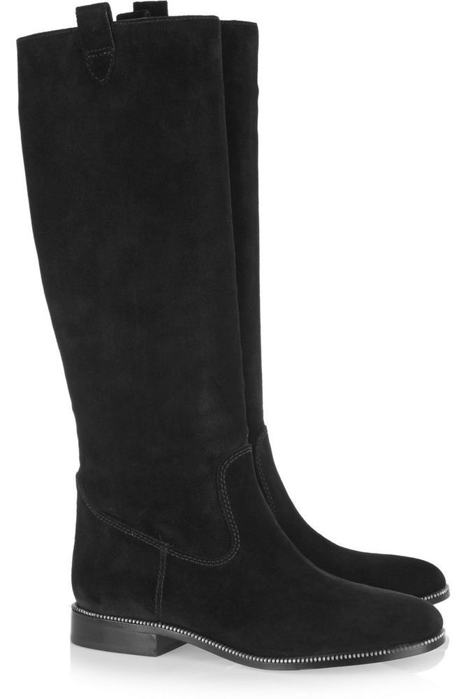 michael by michael kors New Bay View Boot in black suede